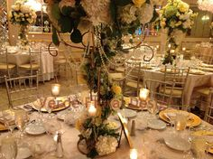 centerpieces with pearls