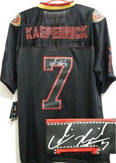 NFL Jerseys Sale - 2015 San Francisco 49ers #7 Colin Kaepernick Black Limited Jersey ...