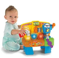 Fisher-Price Laugh & Learn Learning Workbench Fisher-Price…