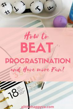 Great strategy for dealing with procrastination! Get more done. I didn't realize how much workaholics and procrastinators had in common! via @alithehappyva
