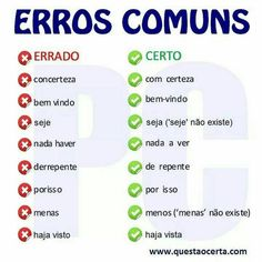 Portuguese Grammar, Learn To Speak Portuguese, Learn Brazilian Portuguese, Portuguese Lessons, Portuguese Language, Common Quotes, Bullet Journal School, Lettering Tutorial, I School