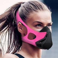Aduro Sport Workout Training Mask - for Running Biking Training and Fitness, Achieve High Altitude Elevation Effects with 4 Level Air Flow Regulator [Peak Resistance] ** Visit the image link more details. (This is an affiliate link) Fitness Gifts, Health Fitness, Woman Fitness, Female Fitness, Cool Masks, Fashion Face Mask, Bike Run, Mask Design, Stay Fit