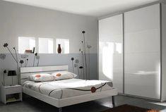 chambre plete giada prenant armoire 2 portes lit 160x200