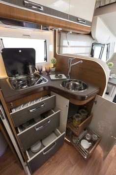 Strategy, secrets, including manual beneficial to acquiring the ideal end result as well as making the max perusal of Kitchen Decor Inspiration Travel Camper, Transit Camper, Motorhome Interior, Campervan Interior, Tiny House Trailer, Tiny House On Wheels, Campervan Conversions Layout, Camper Table, Caravan Home