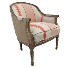 Scarlet Tub Chair, high light your provincial decor.