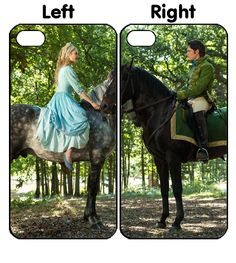cinderella 2015 Couple iPhone 4S 5S 5C 6 6Plus, iPod 4 5, LG G2 G3 Nexus 4 5, Sony Z2 Couple Cases