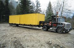 MPX mobile home & container trailer transport - CONTAINER TRANSPORT