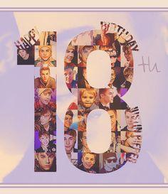 HAPPY 18TH BIRTHDAY JUSTIN <3