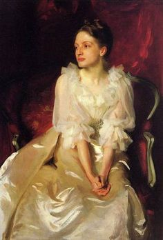 Miss Helen Duinham, John Singer Sargent.Soyouthinkyoucansee on tumblr-