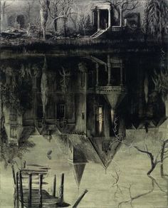 "Santiago Caruso ~ ""The Spectral House"""