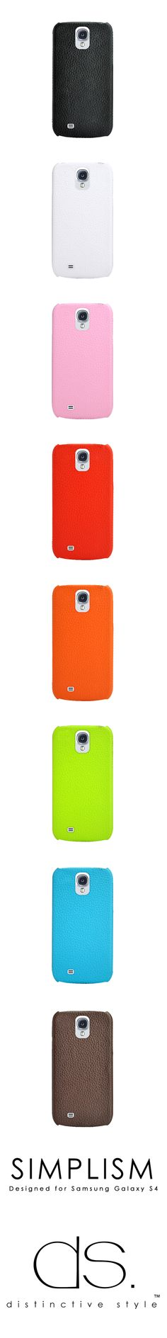 Simplism Series Samsung Galaxy S4 Leather Cases i9500 (Pre-Order) http://www.dsstyles.com/samsung-galaxy-s4-cases/simplism-series.html