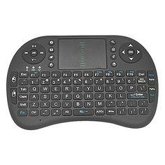 Rii Mini i8 2.4G Wireless 92 Keys Keyboard with Touchpad for Google TV Box/PS3/PC – USD $ 40.99