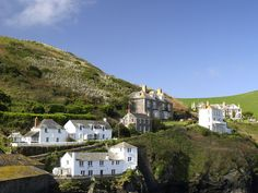 Port Isaac, north Cornwall UK - this is where the show 'Doc Martin' is filmed.