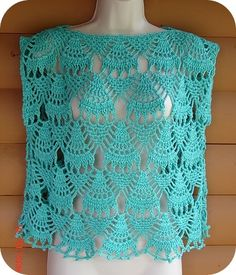 free easy crochet patterns summer tops | ... penny she s a big fan of the sinfonia patterns from tunic bolero vest