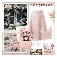 """""""Spring Formal"""" by dezaval ❤ liked on Polyvore featuring Valentino, Alexander McQueen, Marc Jacobs and springformal"""