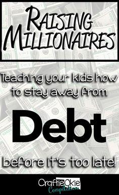 #money #debt #kids #
