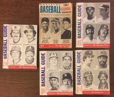 Lot Of 5 Official Baseball Guides-1967, 1975, 1977, 1979, 1980  | eBay