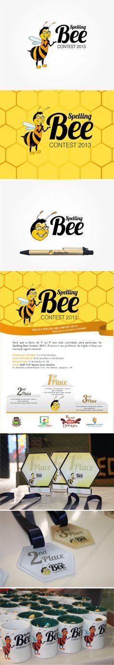 Spelling Bee Contest by Camila Prado, via Behance