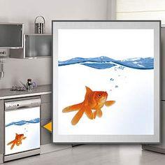Goldfish: Dishwasher Skin Fathead Wall Decal  fathead