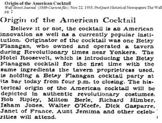 popular 19th century cocktails - Google Search