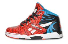 ee54cf774e6 Reebok Sir Jam + SL 6510 x Spiderman Authentic Jordans