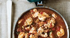 SHRIMP CREOLE:  Traditionally a roux-and-tomato-based dish, Shrimp Creole in my new version has Vietnamese influences; it's spicy and sweet, full of herbs and flavor.