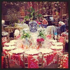 My table for this years Lenox Hill Neighborhood House Spring Gala. It was a Bollywood theme!