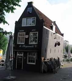 The leaning pub of Amsterdam. Or one of them...
