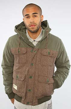The Fathers Of Nature Jacket in Olive Drab by LRG