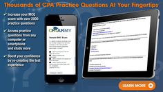 Sample CPA Exam Questions Can Improve Your Score -