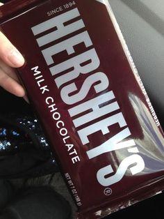 Hershey's are my favorite chocolate!!!