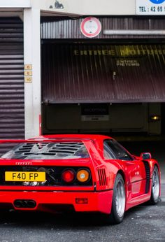 Ferrari F40, my all time fave.Ferrari.