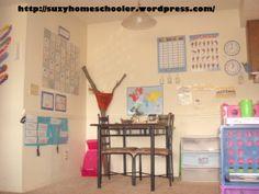 Homeschool Room Tour from Suzy Homeschooler
