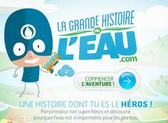 La Grande Histoire de l'eau: site interactif + documents papier à commander gratuitement.
