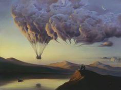 DIANA'S ARTE LITERARIO   Vladimir Kush  Surrealism Art