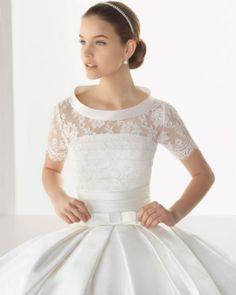 ROSA CLARÁ: avance de vestidos de novia y fiesta para bodas 2013   DolceCity.com