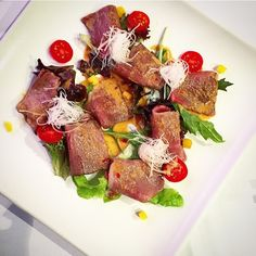 Aburi #wagyu beef #tataki carpaccio  by cinfeeeah
