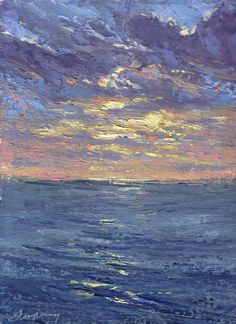 """As the original pinner says """"Ed Terpening - gives good sea and gives great sky :)"""" What more can be said."""