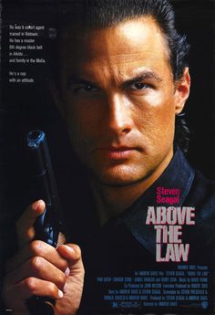 Steven Seagal as Nico: Above The Law (1988)