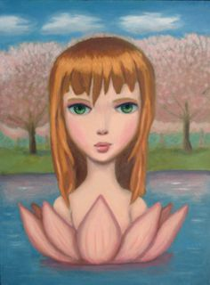 Blossom - Original Oil Painting - Art by Matthew Price - ON SALE on Etsy, $300.00