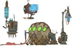 Darkstar Tech - Characters & Art - WildStar