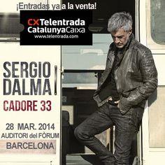 """Vuelve Sergio Dalma con  """"Cadore 33"""", su nuevo disco. Nuevas canciones, nuevo concierto en directo! 28 de marzo en el Auditori del Fòrum Win Money, Slot Online, Fictional Characters, Concert, Songs, Musica, Fantasy Characters"""