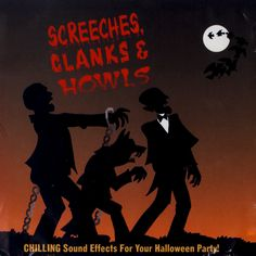 Halloween Sounds, Scary Halloween, Vintage Halloween, Halloween Party, Scary Sound Effects, Scary Sounds, Halloween Pictures, Album Covers, Movie Posters