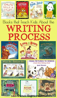 Teach Your Child to Read - Books that Teach About the Writing Process ~ a book list from This Reading Mama - Give Your Child a Head Start, and.Pave the Way for a Bright, Successful Future. Kindergarten Writing, Teaching Writing, Writing Activities, Teaching Kids, Writing Resources, Writing Services, Sequencing Activities, How To Teach Writing, Preschool Books