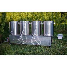 Beast 100 5 bbl  4 burner pilot brew system