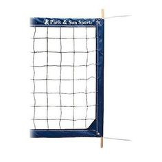 Nets 159131: Park And Sun Sports Regulation Size Indoor/Outdoor Professional Volleyball Net New BUY IT NOW ONLY: $156.48