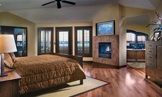 Indoor hinged shutters on windows