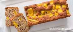 Bananenbrood mango - Leuke recepten Healthy Snacks, Healthy Recipes, Juice Plus, Pecans, A Food, Foodies, French Toast, Paleo, Low Carb