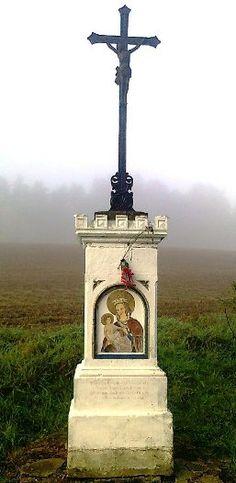 Kříž u cesty - Polesí - Česko