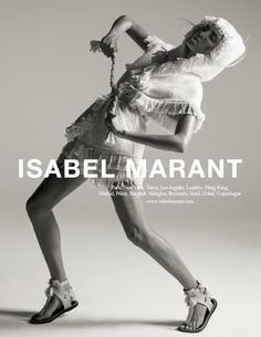 An image from Isabel Marant's spring 2015 campaign. Photo: Isabel Marant
